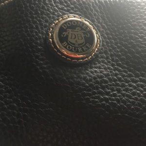 Dooney & Bourke blue med pebble leather satchel.